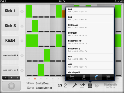 Stochastic Drum Machine By Xitiv Inc  App Review