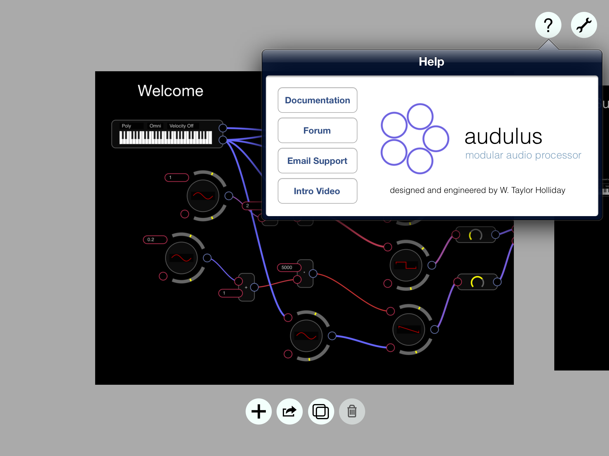 audulus for ipad review smitematter ios music. Black Bedroom Furniture Sets. Home Design Ideas