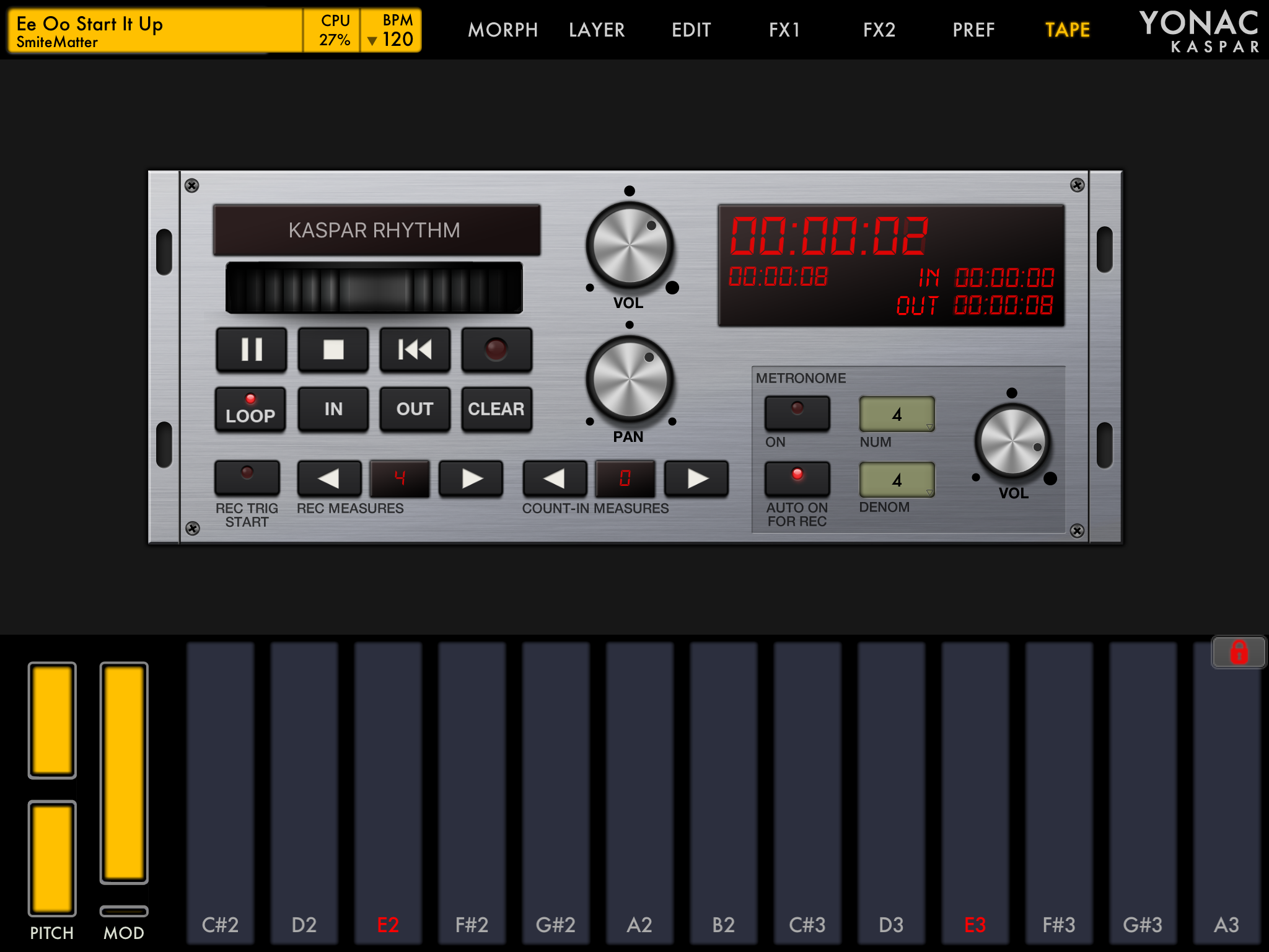SmiteMatter iOS Music   Making music using only iOS devices